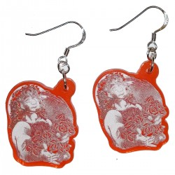 Earrings - UV Charles Roses