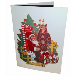 Greetings Card - Get Your Man, Christmas