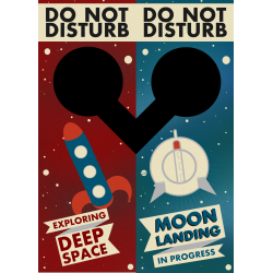 Door Hanger - Space Innuendo