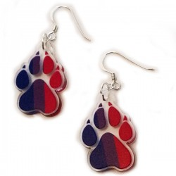 Earrings - Bisexual Paw