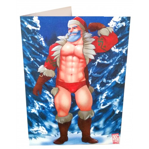 Greetings Card - Bara Claus #1