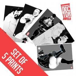 Postcards - Set: Black & White