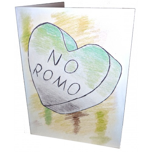 Greetings Card - No Romo