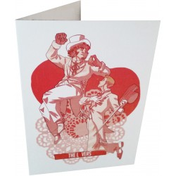 Greetings Card - The Lovers