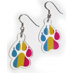 Earrings - Pansexual Paw