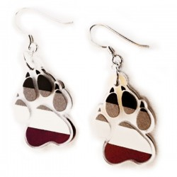 Earrings - Ace Paw