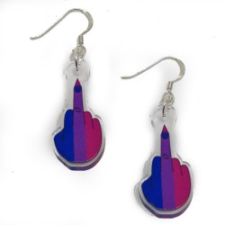Earrings - Bi Finger