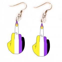 Earrings - Nonbinary Finger