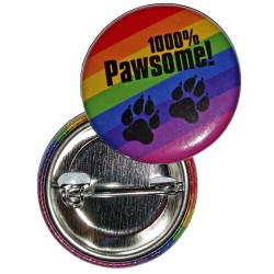 Badge - Pawsome