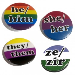Badge - Custom Pronouns