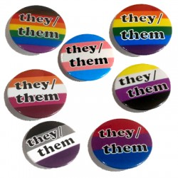 Badge - They.Them Pronouns