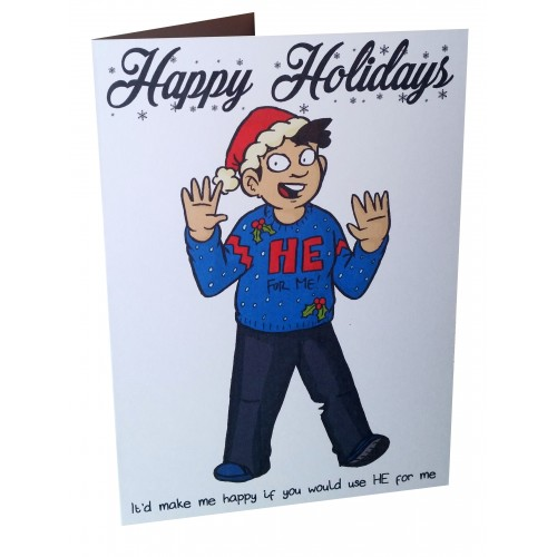 Greetings Card - He for Me!
